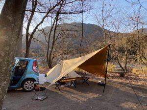 令和2年12月6日(日) ソロキャンプ#8@グリーンパークふきわれ -群馬県-