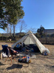 令和2年12月20日(日) ソロキャンプ#9@出会いの森総合公園オートキャンプ場 -栃木県-