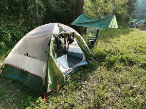令和2年8月6日(木) ソロキャンプ練習@東金nam CAFE&CAMP -千葉県-