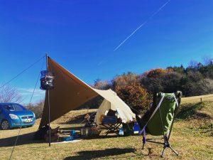 令和2年11月23日(月) ソロキャンプ#7@上毛高原キャンプグランド -群馬県-